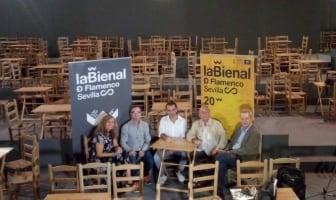 Rueda de prensa en la Bienal de Sevilla 2018