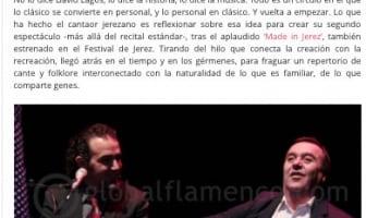 'Clásico Personal', reseña en Globalflamenco.com