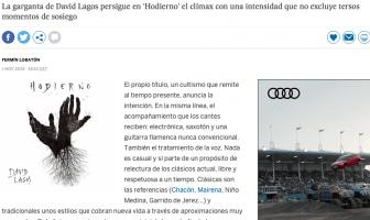 Reseña de Hodierno en El País