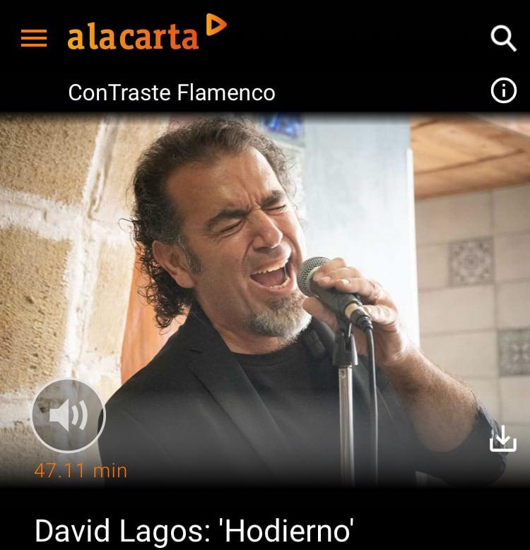 Entrevista en Radio Nacional de España (RNE-Radio5) sobre 'Hodierno'. Programa ConTraste Flamenco